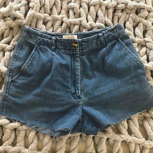 Talbots petite denim shorts